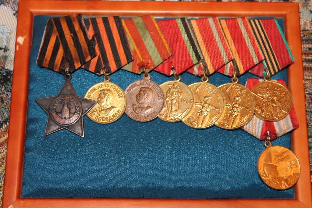 Медали деда - с них всё начиналось