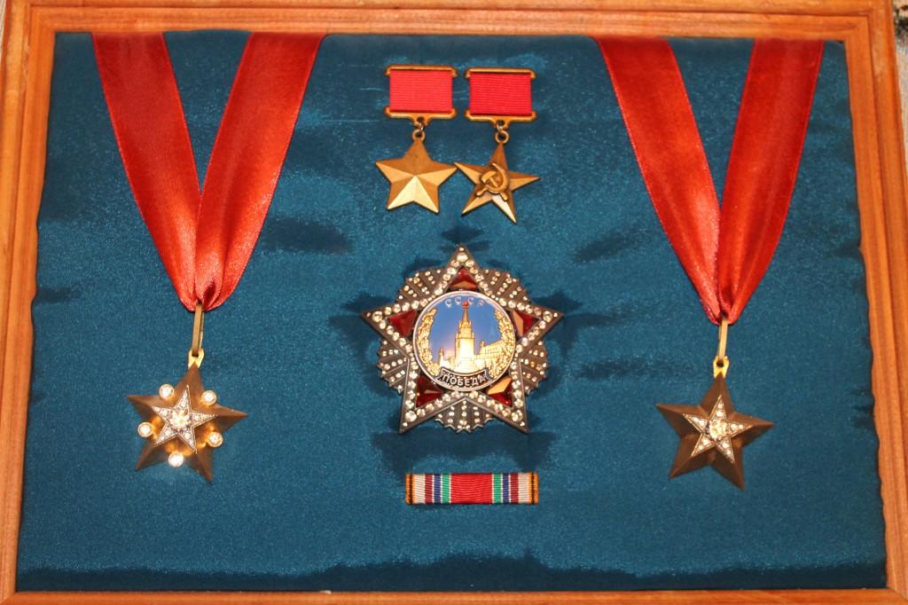 Орден Победы и маршальские звёзды