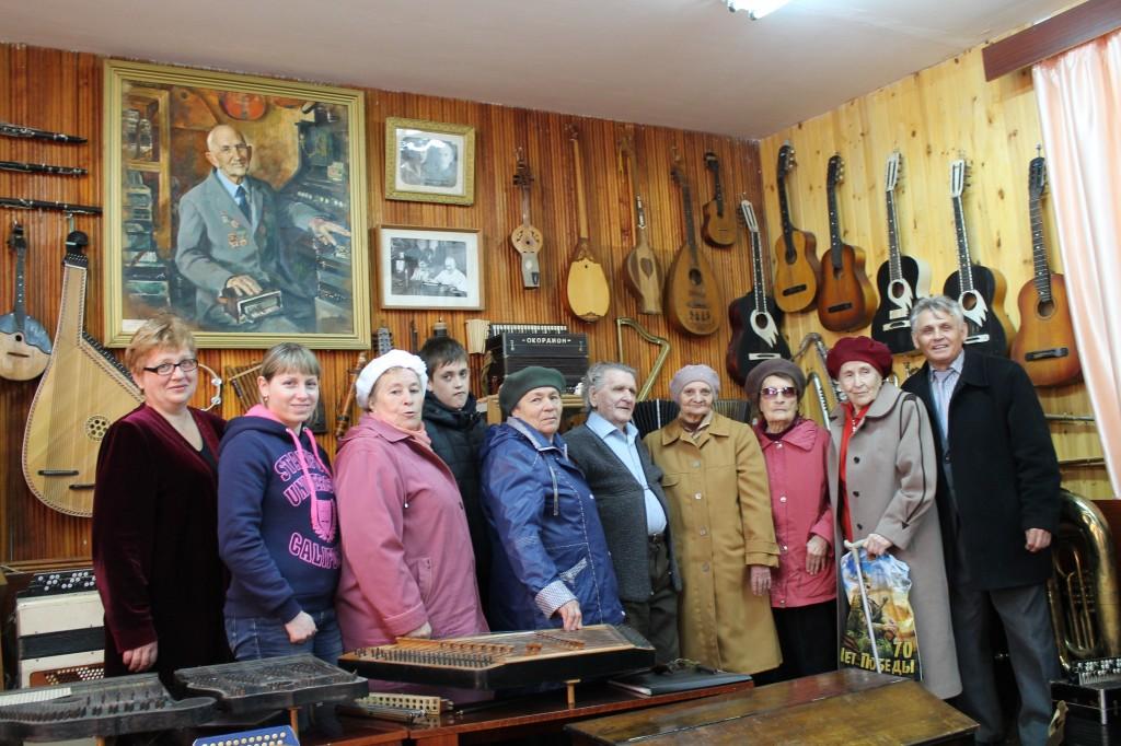 В музее уникальных музыкальных игструментов