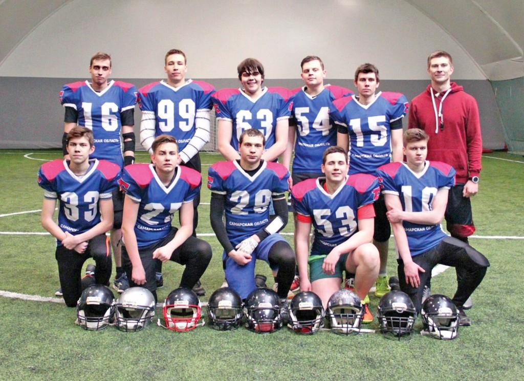 Американский футбол 1 Никита Давыдов и его команда